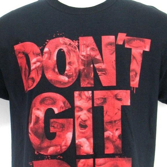 Walking Dead Other - Walking Dead T Shirt - Don't Git Bit - Size Large